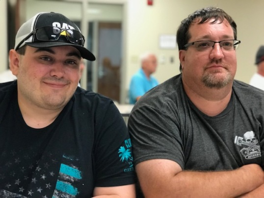 Dylan Kiebler and Jon Evans, Father & Son